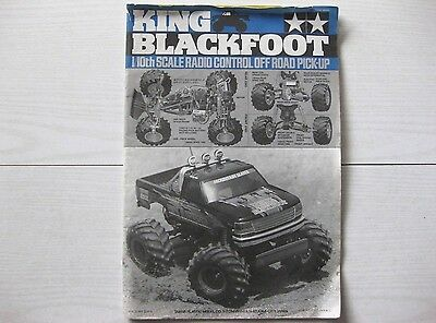 Super blackfoot manual 10 rc blackfoot 2016 assembly manual array tamiya vintage king blackfoot manual used 58192 good condition rh picclick fandeluxe Image collections