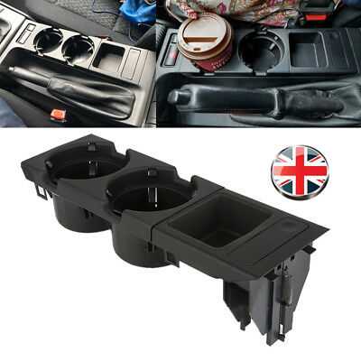 Console Drink Cup Holder Coin Storage For BMW E46 318 320 325 330 1998-2004 UK