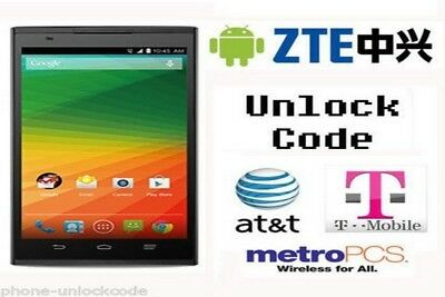 Zte Premium Code Worldwide Unlock Any Model Super Fast Service