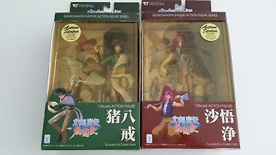 Gensomaden Saiyuki Cho Hakkai and Sha Gojyo Action Figures Set of 2 by Volks
