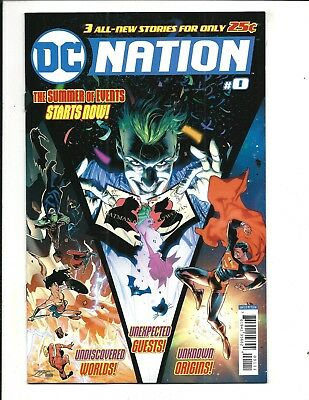 DC NATION # 0 (DC Universe, 1st Print, Cover A, JULY 2018), NM NEW
