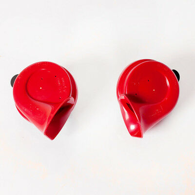 Hella Electric Horn Red Twin Tone Horn Set 12V 500Hz /400Hz 110dB