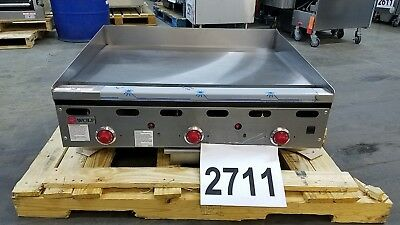 "2711 New S/D - Wolf 36"" Thermostat Controlled Griddle, Model: ASA36-24"