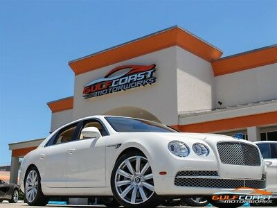 2015 Bentley Flying Spur W12 White with Magnolia leather 6k miles 2015 Bentley Flying Spur W12 White with Magnolia leather 6k miles