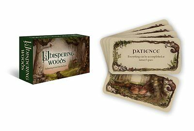 Whispering Woods Affirmation Cards Deck Wiccan Pagan Metaphysical Divination
