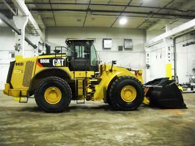 2012 CAT CATERPILLAR 980K LOADER ** CAB A/C & Heat, 4WD, FORMER ALCO MACHINE **