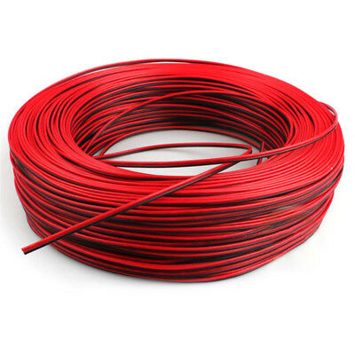 2Pin 10m Car Motorcycle Electric Wire Cable Red/Black Connector For Led Light Fm