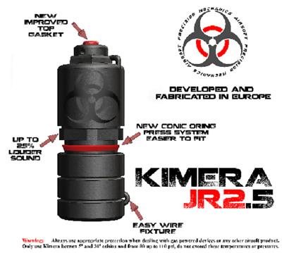 Airsoft Kimera Jr. 2.5 Granate / Grenade Simulation Simulator Airsoft Softair