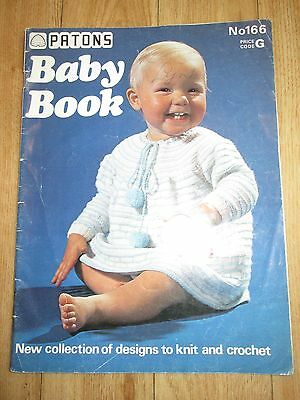 Patons Baby Knitting Pattern Book 125 Picclick Uk