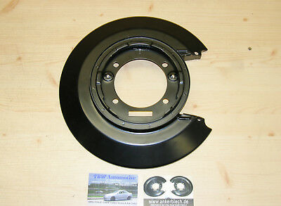 left rear brake backing plate NEW for Vauxhall Carlton Mk3 Senator anchor plate