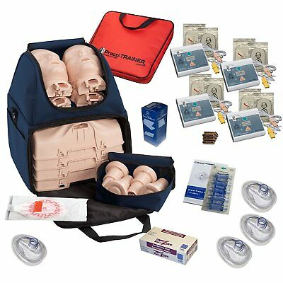 CPR Training Kit w Prestan Ultralite Manikins, WNL AED Trainers