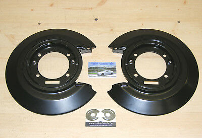 2 x rear brake backing plates NEW for Vauxhall Cavalier 4x4 set of anchor plates