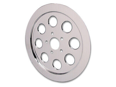 Inner Pulley Cover 70 Tooth Chrome,fits Harley Davidson motorcycle models