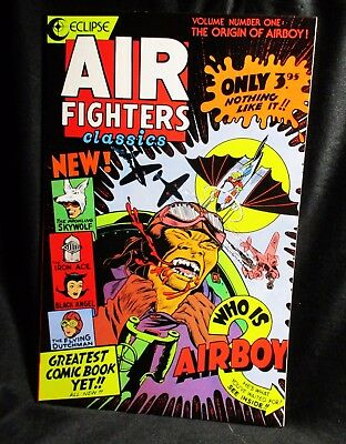 """Air Fighters Classics"" #1 Comic Bk (1987, Eclipse)"