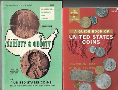 Whitman Red Book Of US Coins - 46th Edition. and Spadone Variety & Oddity Guide