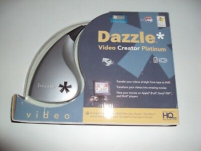 Dazzle Video Creator Platinum With Box Used A Few Times