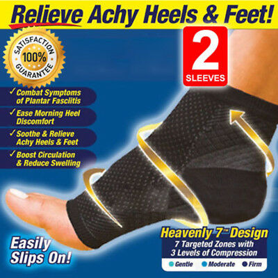 Foot Anti-Fatigue Compression Socks Ankle Support Sleeve Circulation Relief Pain