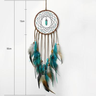 Dream Catcher Handmade with Feathers Wall Home Car Hanging Decor Ornament Gift