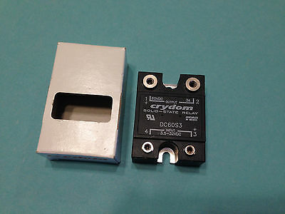 NEW Crydom DC60S3 Solid-State Relay Panel Mount 60VDC, 3A