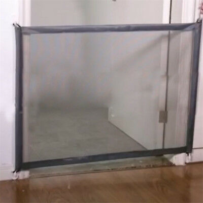 Mesh Magic Pet Dog Gate Safe Guard And Install Anywhere Pet Safety Enclosure XA