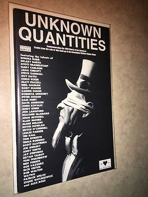 Unknown Quantities Alan Moore Alex Ross Rick Veitch Kevin Nowlan Neil Gaiman