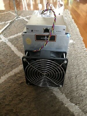Antminer D3 19.3GH/s ASIC + APW3++ PSU - USED Cryptocurrency Dash Miner