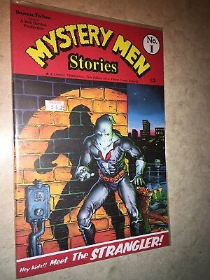 Mystery Men Stories 1 Bob Burden (Flaming Carrot)