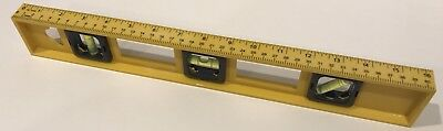 Level Measurement Tool with 16 inch ruler