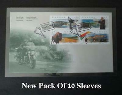 Museum High Grade Currency Sleeves US Covers 10 Pack Supersafe 4 1/4 x 7 3/8 New