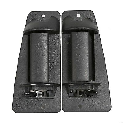 Pair Rear Outside Door Handle For 99-07 Chevrolet Silverado Sierra Extended Cab