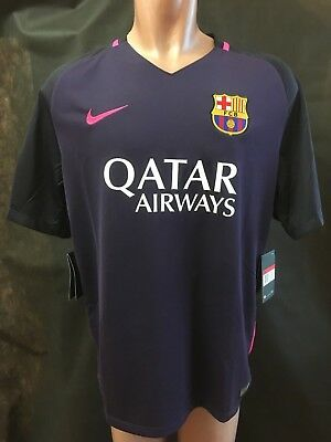 afff34003bb Nike Official 2016 - 2017 FC BARCELONA AWAY Football Soccer Shirt 776844-524