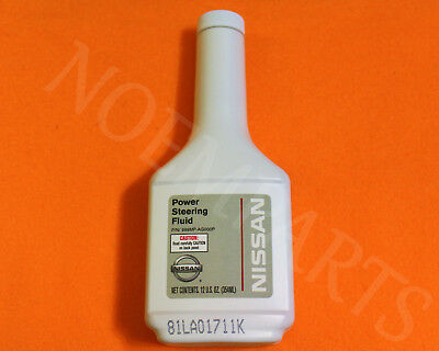 GENUINE Infiniti & Nissan Full Sythentic Power Steering Fluid 12oz