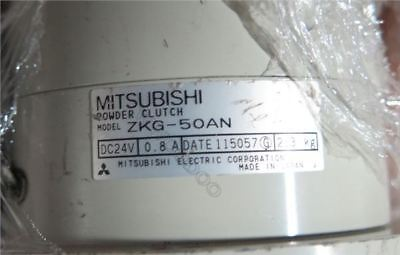 Used 1 Pcs Mitsubishi Tension Magnetic Powder Clutch ZKG-50AN Good Condition lh