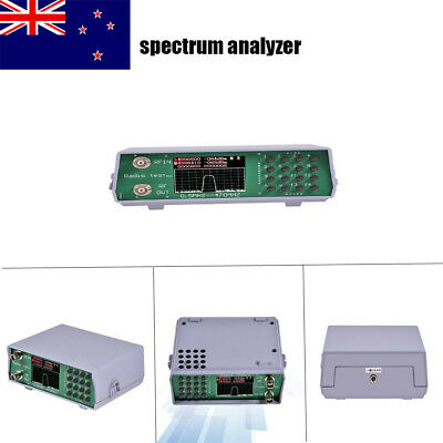UHF VHF Dual Band RF Spectrum Analyzer w/ Tracking Source 136-173MHz/400-470MHz