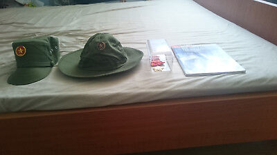 Vietnam People's Army Hat and Medal, Vietnam War Collection, MiG-17 Aces Book
