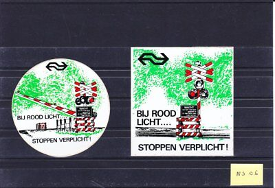 NS06 :    PAYS-BAS  2 stickers NS