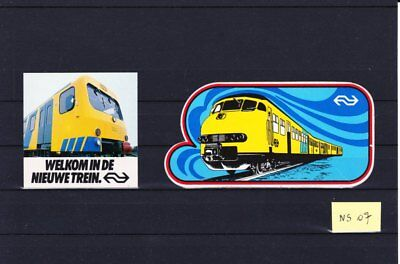 NS07 :    PAYS-BAS  2 stickers NS