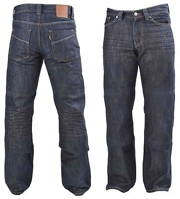 Biker Protective Mens Knitted DIVALO® Jeans Made With DuPont™ Kevlar® Lining