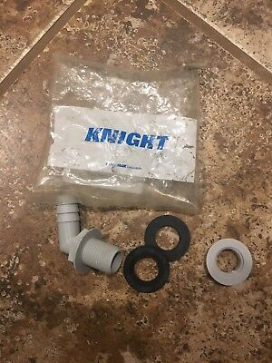 Knight Dispenser Detergent Bowl Bulkhead 70° Fitting