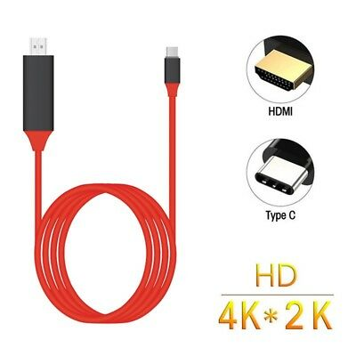 USB 3.1 Type C USB-C to 4K HDMI HDTV Adapter Cable N7Q2