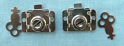Lot of 2 Trade Stimulator slot machine or vending machine lever locks