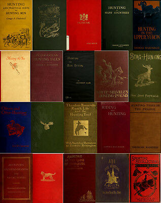 170 Rare Books On Hunting, Big Game Outdoor Gun Sport, Hunt, Shooting & More Dvd