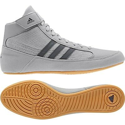 Adidas Havoc Wrestling Shoes Boxing Boots Trainers Pumps Mens Adults Grey 2018