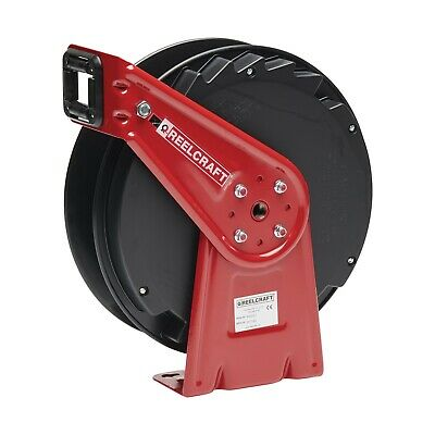 "REELCRAFT RT402-OLB 1/4"" x 25ft. 300 psi Chemical Delivery Hose Reel - no Hose"