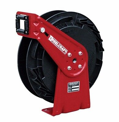 "REELCRAFT RT802-OLB 1/2"" x 25ft. 300 psi Chemical Delivery Hose Reel - no Hose"