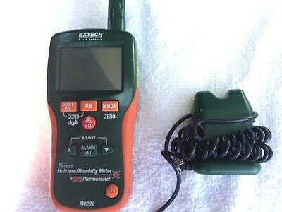 Extech MO290 pinless moisture meter with probe very nice!!!