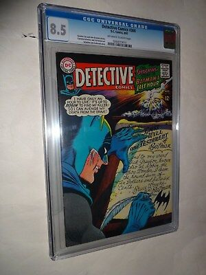 Detective Comics #366 CGC (8.5)  (Aug 1967, DC)