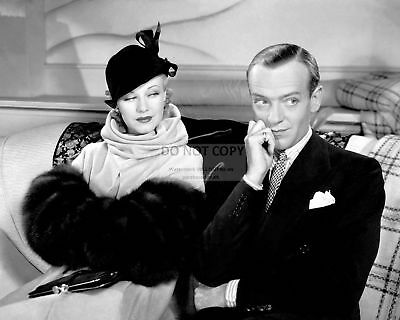 """Fred Astaire And Ginger Rogers In """"Swing Time"""" - 8X10 Publicity Photo (Cc816)"""