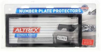 5L - Altrex Dual Standard Number Plate Frame Set 5 Figure With Pin Lines