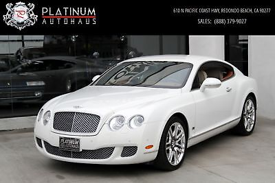 Continental GT ** Series 51 Edition ** Bentley Continental White with 46,241 Miles, for sale!